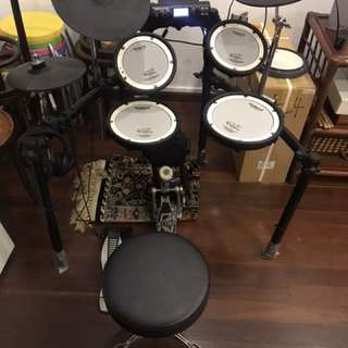 Roland td4 electronic drumset