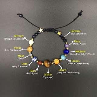 Solar system bracelet!!
