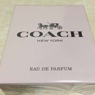 ⚠️ 💯 Authentic‼️Coach New York Eau De Parfum 90ml