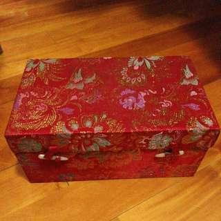 古董錦盒 L29cm x W18cm x H12.5cm