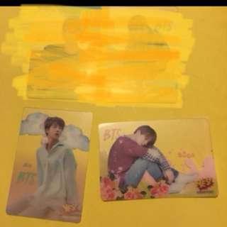 BTS 專輯卡