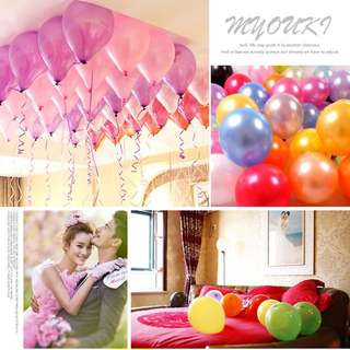 Thick 10 / 12 Inches LATEX Balloons Party Decor