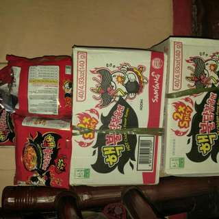 2x Spicy Noodles!