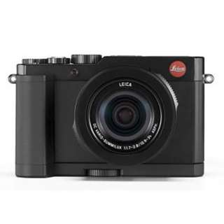 Leica D-Lux 6 with hand grip and Retractable Lens hood