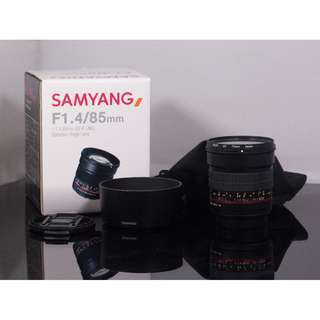 Samyang 85mm F1.4 AS IF UMC (Canon Mount)