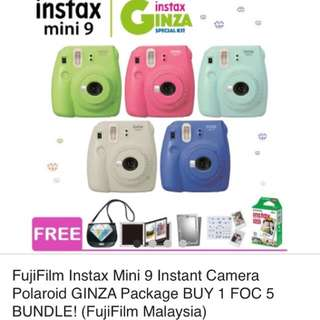 Instax mini polaroid 9 camera
