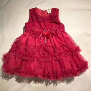 Dress/ baju pesta anak perempuan