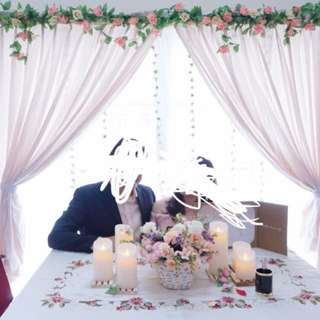 RENT: Wedding ROM engagement decorations flowers candles
