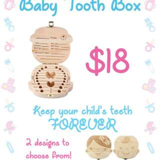 Tooth box (baby, kid)