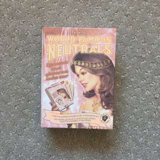 Authentic World Famous Neutrals Eyeshadow Palette from Benefit