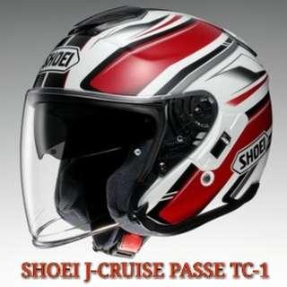 SHOEI J-CRUISE PASSE TC-1