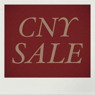 [NOTICE] CNY SALE