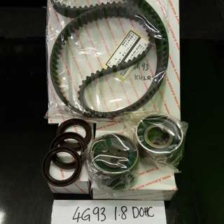 Mitsubihsi Timing Belt Set 4G93 1.8 DOHC