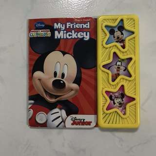 Disney Junior My Friend Mickey with Sound & Music Toddler Learn Read Education