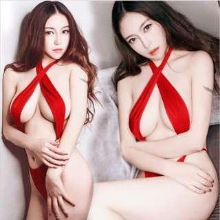 日本死庫水 情趣2穿露乳泳衣 情人必備