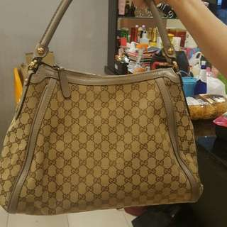 Gucci Guccissina hobo handbag