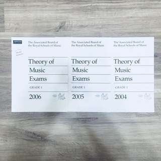 (HALF PRICED, BRAND NEW) ABRSM Theory of Music Exams Papers