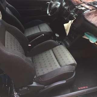 Golf4代 前座椅一對