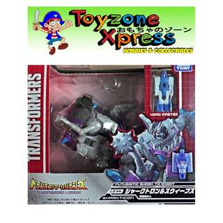 Takara Tomy - Transformers Legends Series - LG-44 Sharkticon & Sweeps