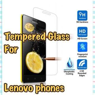 Lenovo Models Glass Screen Protector