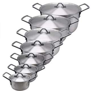 7 pcs Aluminum Cooking Pot