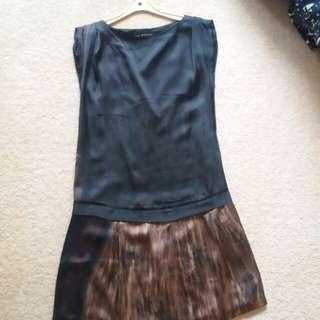 Zara casual dress sz S