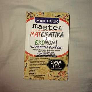 master matematika & ekonomi sma (mini book)