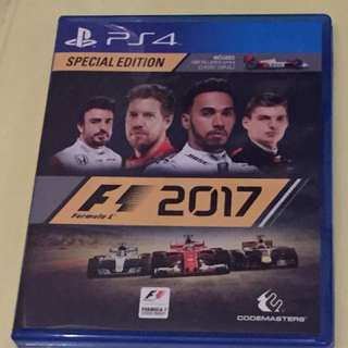 PS4 Game - F1 2017