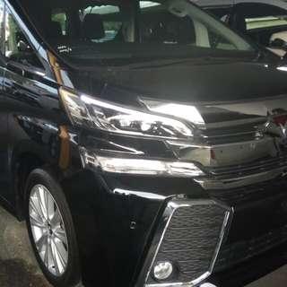 Toyota Vellfire 2.5 8 seater