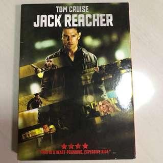 DVD Tom Cruise Jack Reacher