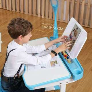 study table/children multifunction desck pupil homework desks can lift the table kids table and chair