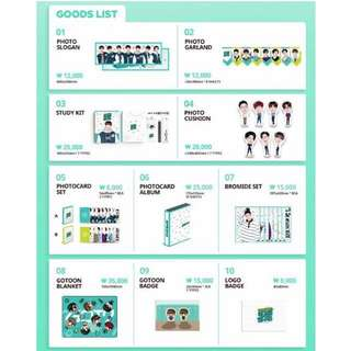 [QUICK PO] GOT7 4th Fanmeeting Official Goods