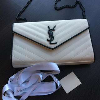 Yves saint laurent envelope sling bag preloved