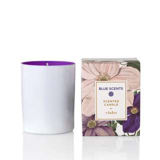 Mothers Day Special 20% Discount of listed price Violet - Candle