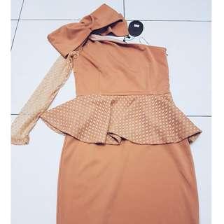 Light Orange Toga Dress