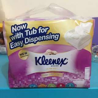 *BNIB* Kleenex Moist Toilet Tissue with Dispensing Tub