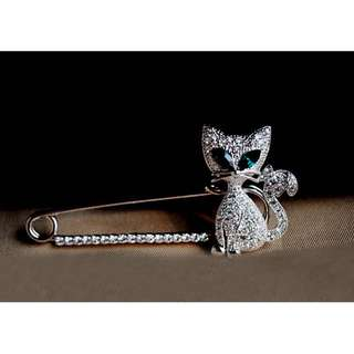 [LIMITED] ★Brooch - Cat / Silver / Gold★