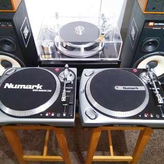 Numark TT200 turntable 黑膠唱盤