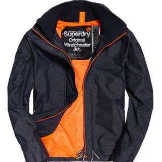 SUPERDRY WINDCHEATER SIZE S