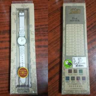泰國 Link Graphix Watch 白色錶