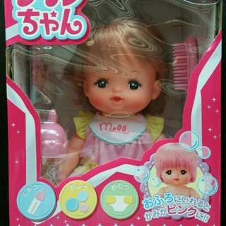 Brand New in Box Authentic Mell-Chan Japanese Doll set