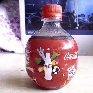 可口可樂10年南美世界杯紀念版球至膠樽一枝