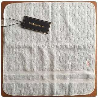 Polo Ralph Laren cotton towel light blue Color 34x34cm