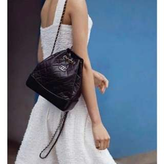 平徵,徵,徵,chanel gabrielle backpack(small size,黑色)