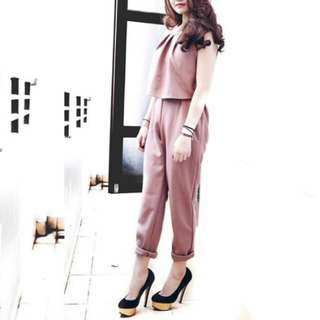 Long jumpsuit (coffe)