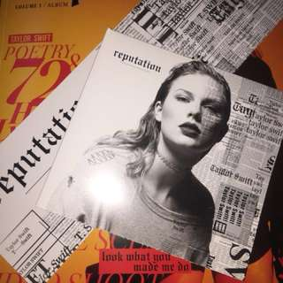REPUTATION CD TAYLOR SWIFT