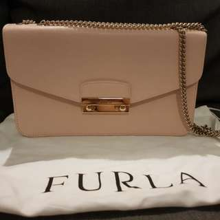 Furla 'Julia' with silver chain shoulder strap