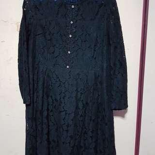 🚚 Plus size lace dress