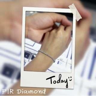 🦋FIR Diamond💎鑽石手鏈