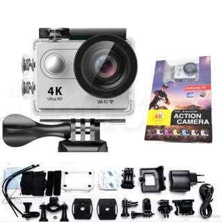 Original Authentic H9 4K Action Camera Wifi Sports Cam, waterproof, remote (SALE>standard price :RM120)